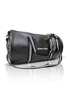 BAVYERA Bavyera Seem Bag Silindir Spor Fitness Çantası Siyah